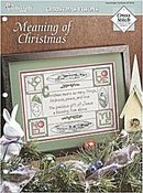 """Meaning of Christmas"" Cross Stitch Pattern"