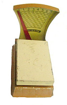 1930s Wolverine Tin Toy Scale - Working!