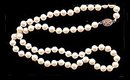 """Lovely 21"""" Faux Pearl with Silver Clasp Necklace"""