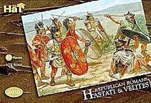 1/72  HAT 8018 Romans Replublican Hastati & Velites