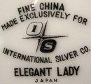 International China 'Elegant Lady' Vegetable Bowl