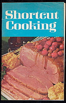 "1969 ""Shortcut Cooking"" Recipe Book"