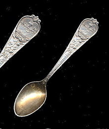 "4"" SSMC Sterling Tennessee Souvenir Spoon"
