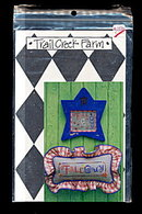 Trail Creek Farm 'Fall Guy' FALL Cross Stitch Pattern