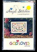 Angel Stitchin 'God Loves the Little Children' Pattern