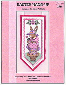 'Easter Hang-Up' Easter Rabbit Cross Stitch Pattern