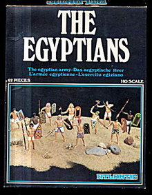 1970s Atlantic 'The Egyptians' 1/72 Soldiers in Box