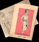 1966 One Piece Dress #9324, Size 18 Sewing Pattern
