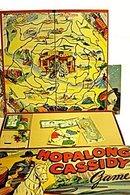 Hopalong Cassidy Board Game by Milton Bradley - ca 1950