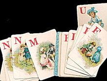1874 Game of Logomachy - McLoughlin Bros