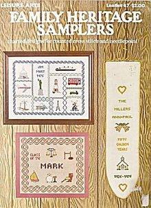 Family Heritage Samplers Counted Cross Stitch Pattern