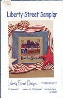 'Liberty Street Sampler' Patriotic Cross Stitch Pattern