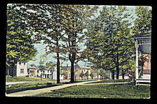 1908 Corry, PA, Scenic Street View Postcard