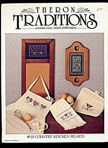 Theron Tradtions 'Country Kitchen Hearts' Patterns