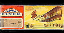 1973 Wright Brothers 1903 Flyer Balsa Wood Airplane Kit