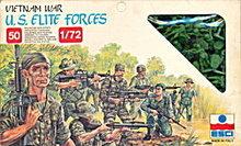 1983 ESCI Vietnam War US Elite Plastic Soldiers
