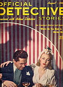 Official Detective Stories - Aug 1945 Pulp Magazine