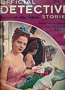 Official Detective Stories - July 1945 Pulp Magazine