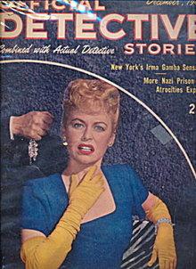 Official Detective Stories - Dec 1945 Pulp Magazine
