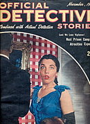 Official Detective Stories - Nov 1945 Pulp Magazine