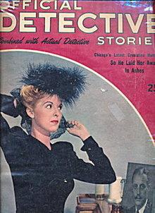 Official Detective Stories - Mar 1946 Pulp Magazine