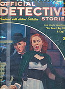 Official Detective Stories - May 1946 Pulp Magazine