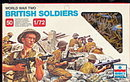 ESCI WWII British Soldiers Plastic Soldiers