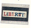 Nessy Lynn's Patriotic 'Liberty!' Cross Stitch Pattern