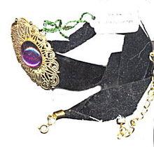 Lovely Western Germany Velvet Choker Necklace