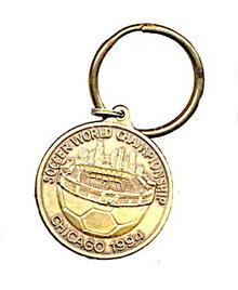1994 Chicago Soccer World Championship Key Chain