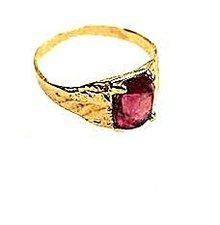 14k Gold & Amethyst Ladies Ring - Vintage