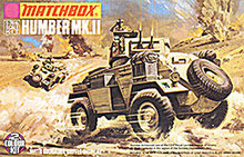 1973 Matchbox Humber Mk. II Model Kit