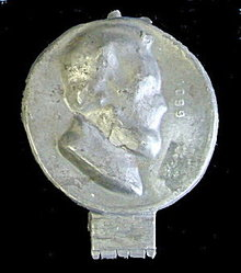 Old Metal Penny Lincoln Head Chocolate Candy Mold
