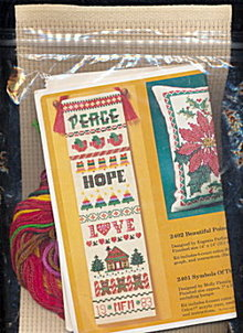 Christmas Symbols of the Season Bellpull Craft Kit