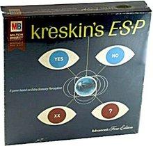 1967 Kreskin's ESP Board Game - Milton Bradley