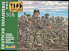 1990 Revell German Infantry Plastic Soldiers