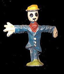 (M143) Manoil Happy Farm Scarecrow