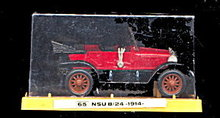 Vintage Euro-Modell 1914 Audi Benz Mint in Case