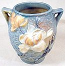 Roseville Pottery Magnolia Small Handled Pot/Vase