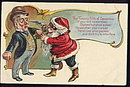 Great Robber Santa Claus 1921 Postcard