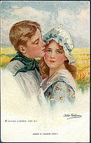 1907 'Need A Lassie Cry?' Philip Boileau Postcard