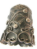 Mexico .925 Sterling Ornate Swirl Thimble