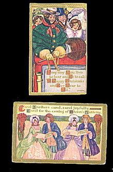 2 1912 Marion Miller Christmas Postcards