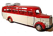 NZG Modelle Mercedes Benz Omnibus O 3500 Bus