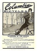 """Columbia Bicycles"" 1903 Advertisement"