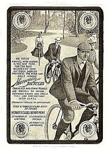 """Monarch Bicycles"" 1903 Advertisement"