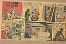 1953 'The Lone Ranger' Comic Strip