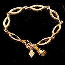 """1960s Sarah Coventry """"Delightful"""" Bracelet"""