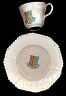 Lovely Arcadian City of Peterborough Teacup Set