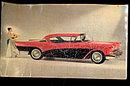 1957 Buick Super Model 56-R 2-Door Riviera Postcard
